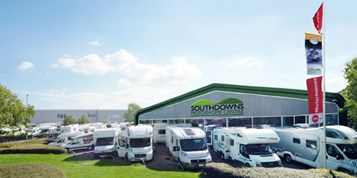 Wohnwagenhändler - Hampshire - Southdowns Motorhome Centre